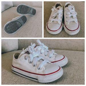 Size 5 Off White Converse